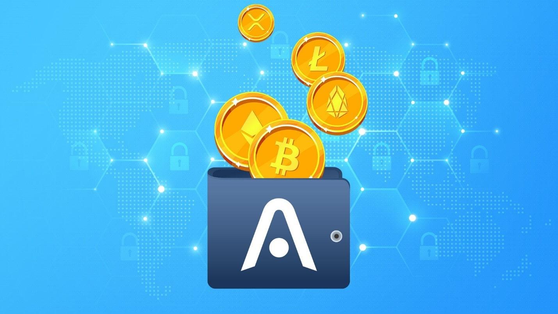 کیف پول نرم افزاری Atomic